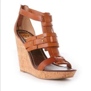 Used 🌸 DV by Dolce Vita Cork Wedge Heels 6W